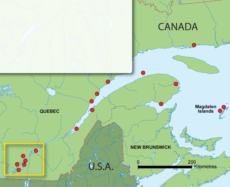 Cleaning Up The St Lawrence - St lawrence river on us map