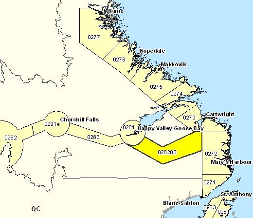 Sous-région de prévisions de Eagle River