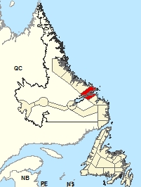Location Map - Rigolet and vicinity