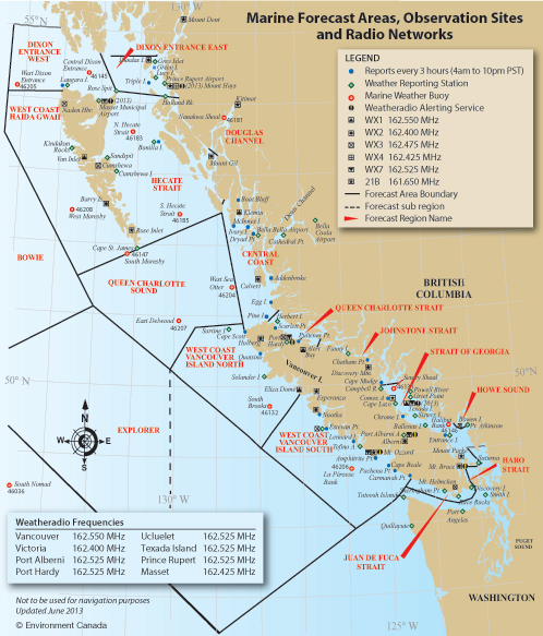 Environment And Climate Change Canada Weather And Meteorology - Us coast guard stations map