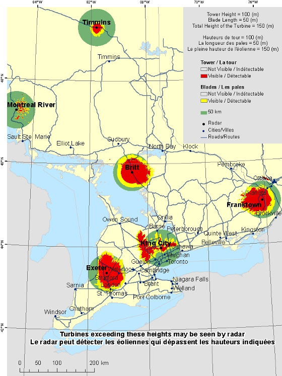 This Map Shows A View Of The Radar Sites Located Within The Area Of