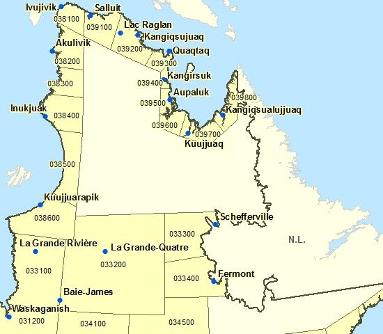 Northern Québec