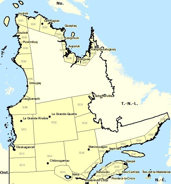 Nord du Québec