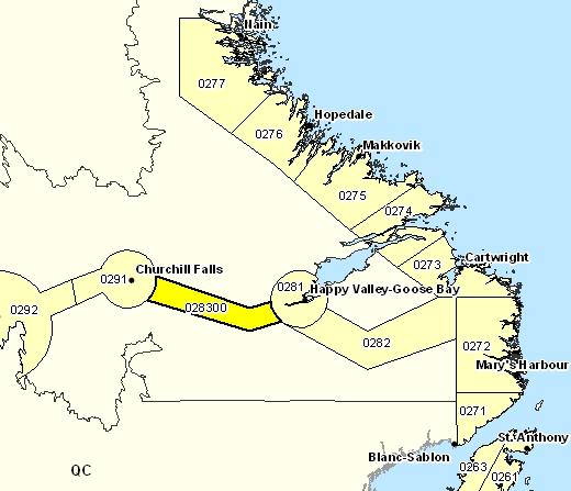 Sous-région de prévisions de la vallée de Churchill