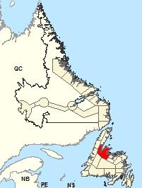 Carte de localisation - Green Bay - White Bay