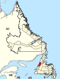 Carte de localisation - Gros-Morne