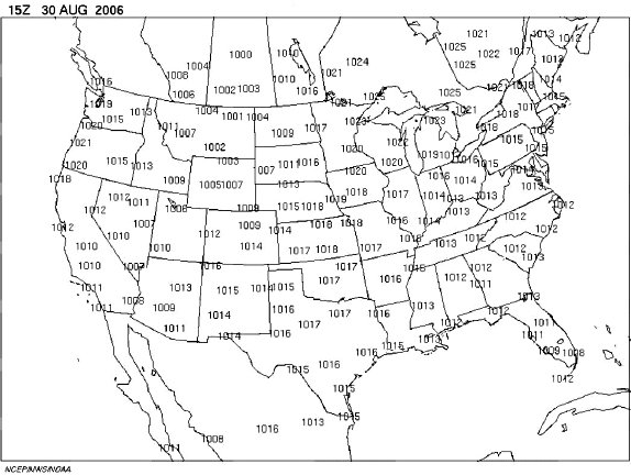 ARCHIVED Environment And Climate Change Canada Weather And - Us isobar map